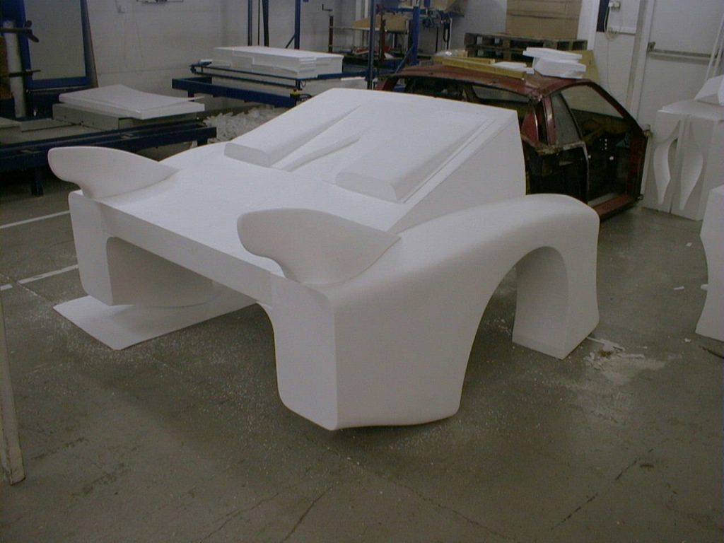 Lancia Beta Montecarlo Rear Polystyrene Mould Ready For Coating