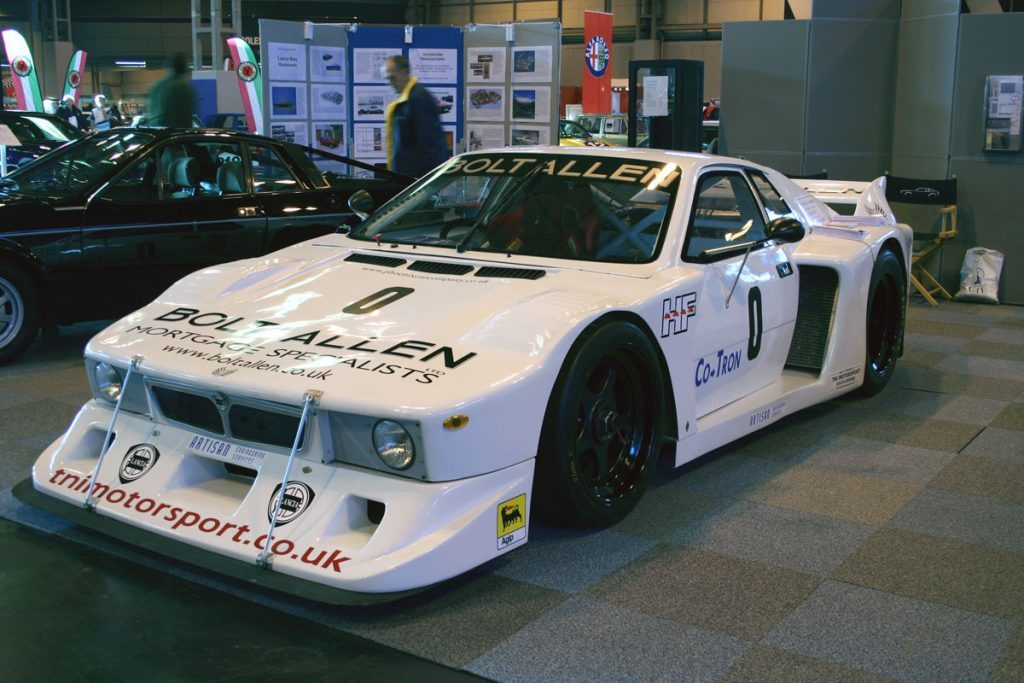 Lancia Beta Montecarlo At A Car Show