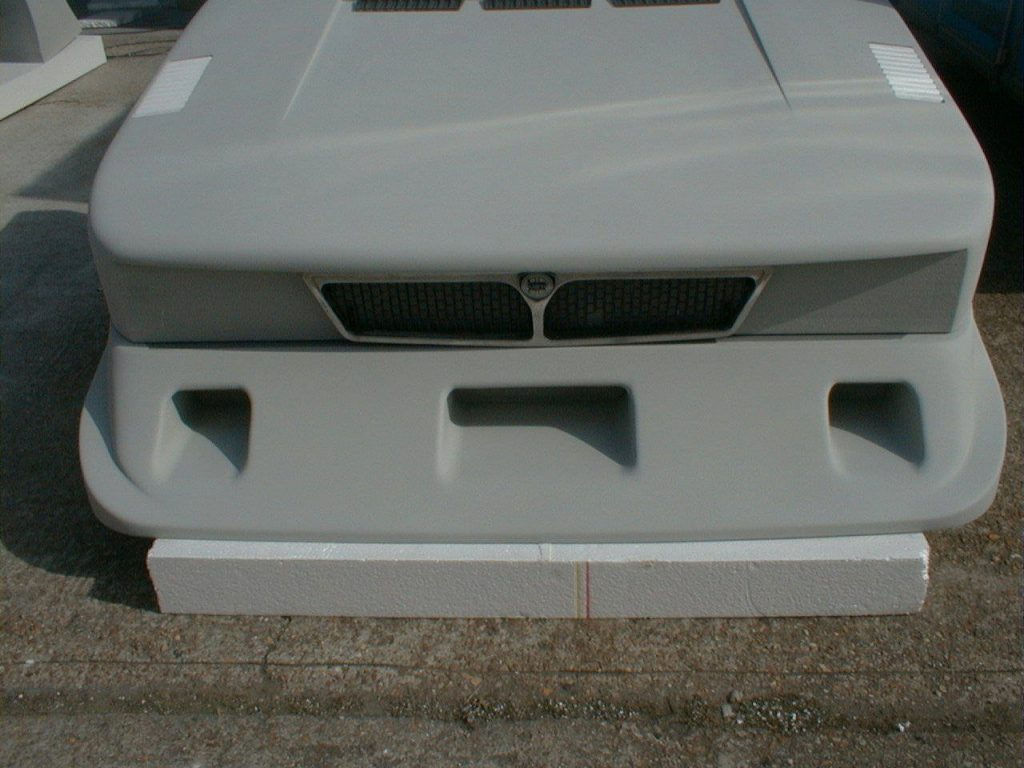 Lancia Beta Montecarlo Finished Front With Grille