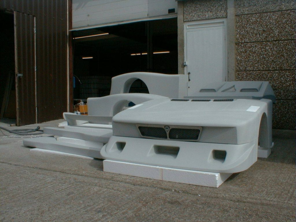 Lancia Beta Montecarlo Finished Polystyrene Parts
