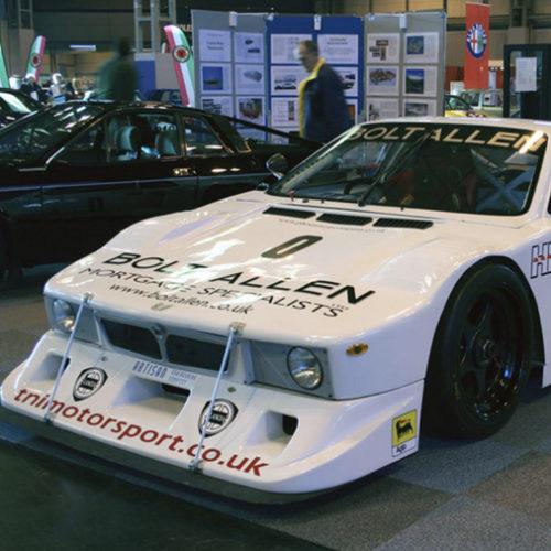 Lancia Beta Montecarlo At A Car Show