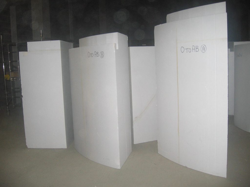 Polystyrene Curved Wall Corner Pieces