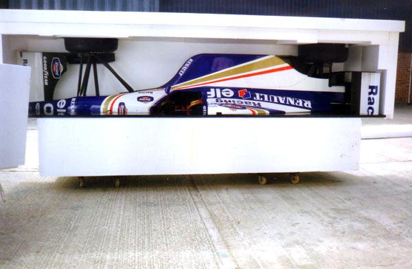 Renault Elf Formula 1 Race Car With Polystyrene Packaging