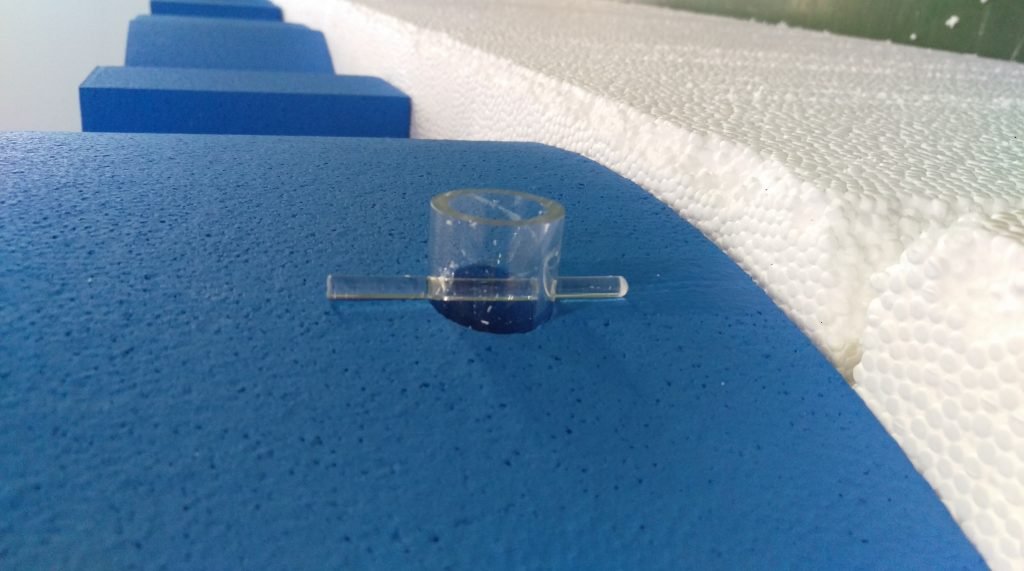 Close Up Image Of Acrylic Fixings