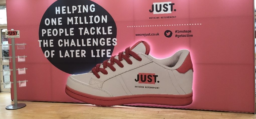 Polystyrene Shaped Trainer With Printed Foamex Face