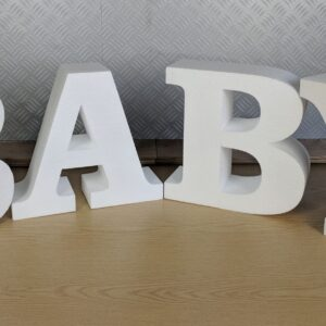 Polystyrene Baby Freestanding Sign